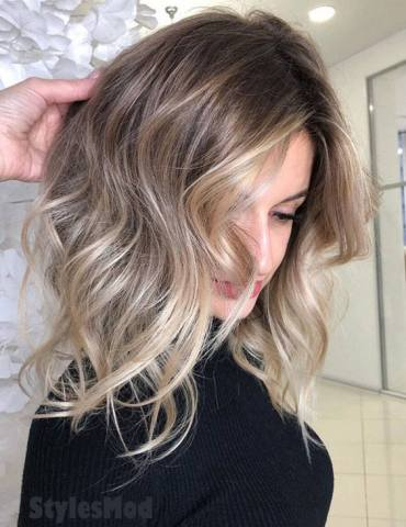 Hottest Balayage Ombre Hair Color Style & Trends for 2019