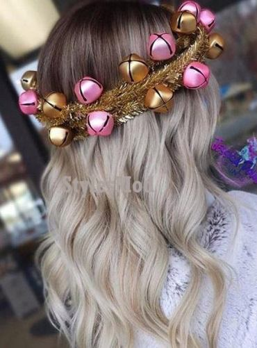 Jingle Bell Ideal Crown Hairstyle for Long Hair