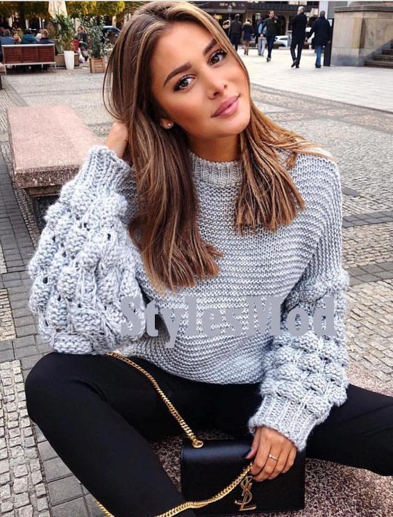Marvelous Winter Season Sweaters Style for Girls & Women