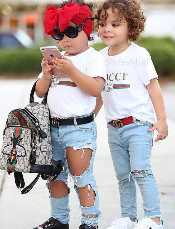 Super Cool Kids Fashion Style for The Year of 2019