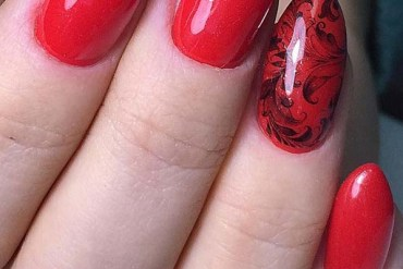 Wonderful Red Nail Designs in 2019
