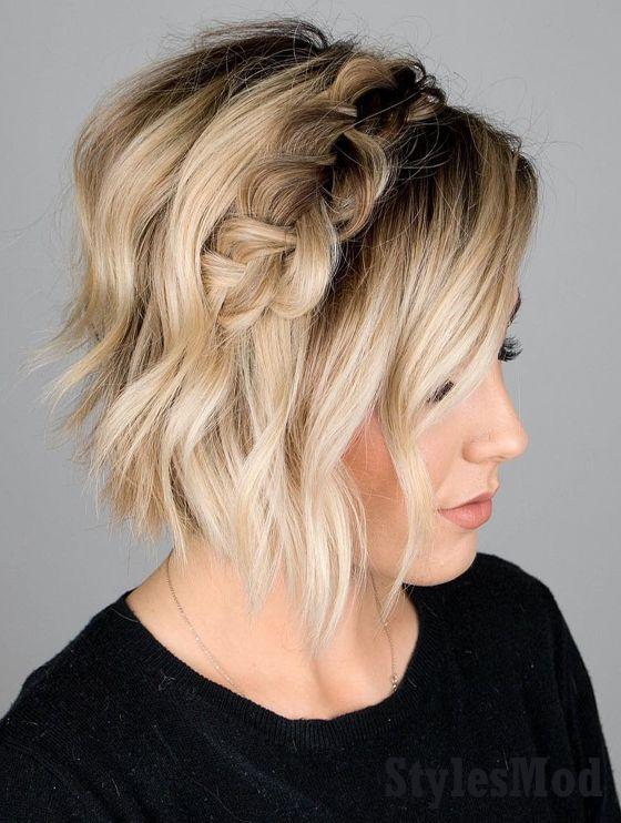 Delightful Dutch Braid Hairstyle Ideas for Short Hair In 2019