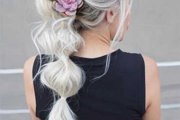 East & Cute Ultra Messy Bubble Ponytail Hair In 2019