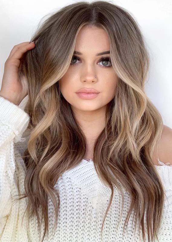 Awesome Face Framing Balayage Ombre Hairstyles For 2019