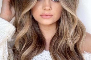 Face Framing Balayage Ombre Hairstyles for 2019