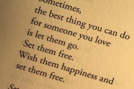 Let Them Go- Best Love Quotes