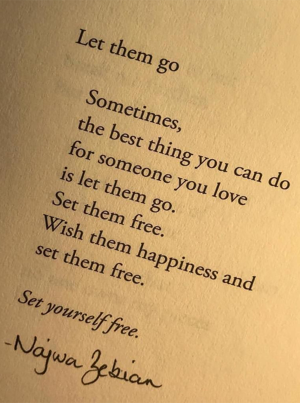 Let Them Go Sometimes Best Love Quotes Stylesmod