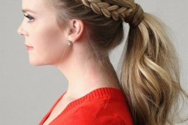Lovely Braid Ponytail Hairstyles for Special Event of 2019