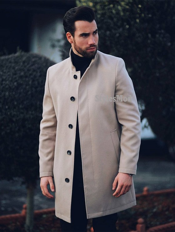 Perfect Men's Coat & Grooming Style Ideas In 2019