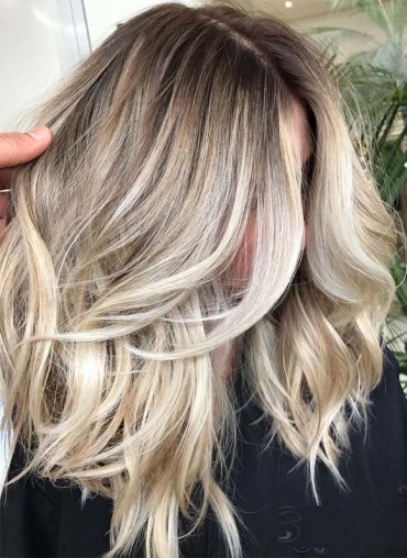 Absolutely Stunning Balayage Ombre with Shadow Roots in 2019