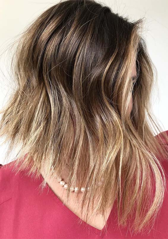 Best Of Brunette Balayage Hair Color Ideas For 2019 Stylesmod