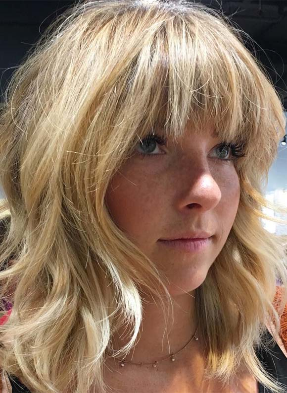 Amazing Shaggy Haircuts with Bangs in 2019