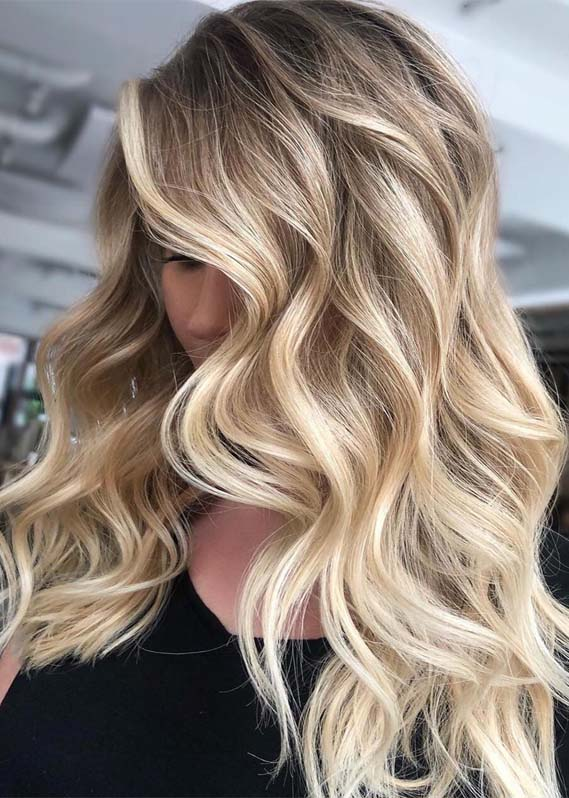 Awesome Balayage Hair Colors & Highlights for 2019