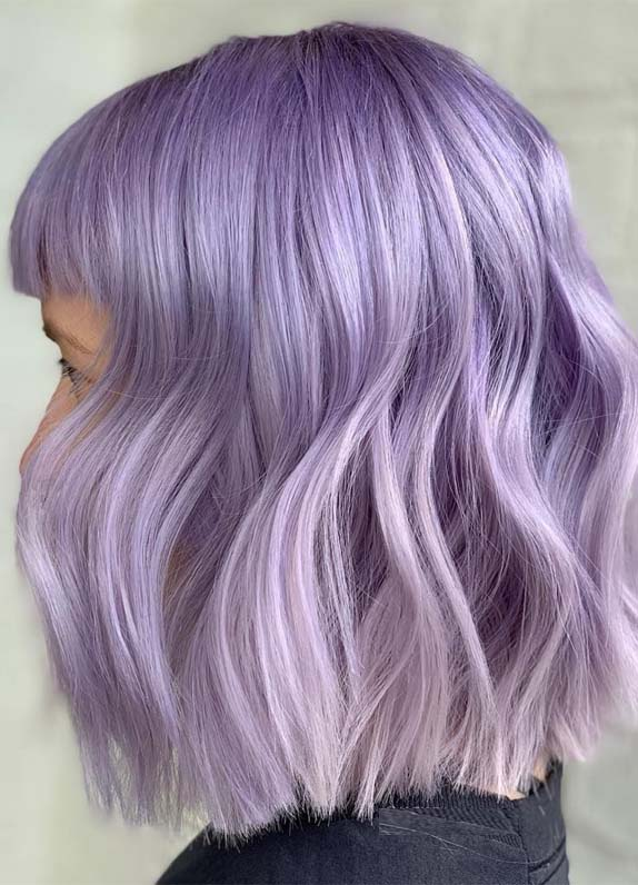 Awesome Purple Hair Color Shades You Must Wear In 2019 Stylesmod