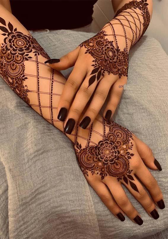 Cutest Mehndi Henna Designs in 2019