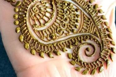 Mango Mehndi Designs For Hands in 2019