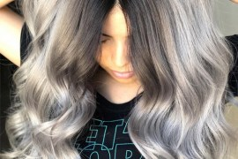 Most Popular Dreamy Silver Hair Color Ideas for Stylish Girls