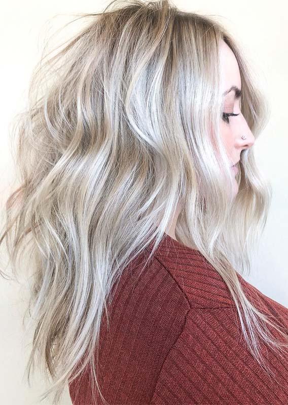 Balayage hair blonde Ideas for 2019