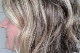 Blonde Balayage Short Textured Haircuts in 2019