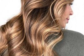 Golden Shades of Balayage Hairstyles for 2019