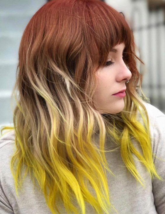 Gorgeous Brown & Yellow Hair Color Shades for 2019