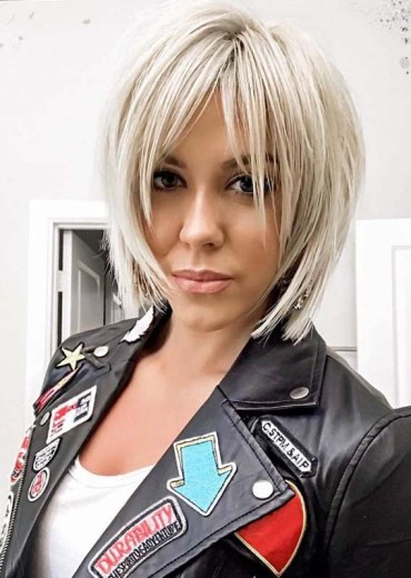 Modern Blonde Short Haircuts in 2019