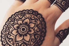 Modern Henna Designs for Cute Hands for 2019