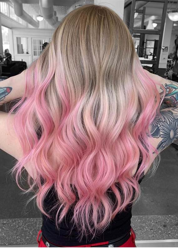 Pink hair color styles for women 2019