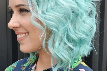 Professional Blue Hair Color Ideas for Short Hair in 2019