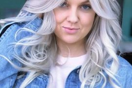 Stunning Silver Medium Length Hairstyles for 2019
