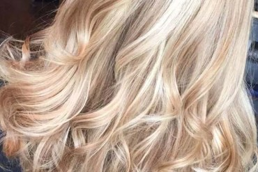 Bright Blonde Highlights and Hair Color Ideas for 2019