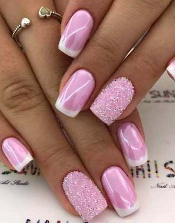 Crazy Pink Nail Art Designs in 2019