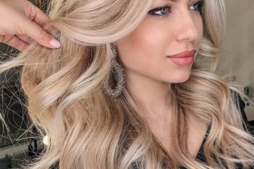 Creamy Blond Hair Color & Beaty Ideas for 2019
