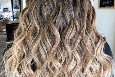 Fabulous Balayage Shades & Waves Hair Look in 2019