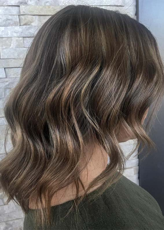 Smokey Brunette Hair Color Ideas for 2019