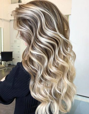 Stylish Balayage Ombre Hair Color Highlights for 2019