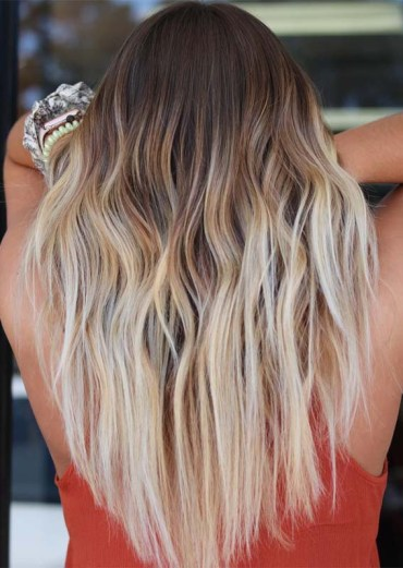Beached Balayage Hair Styles & Color Ideas in 2019
