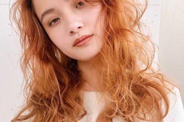 Best Orange Beige Hair Color Ideas for Bold Ladies