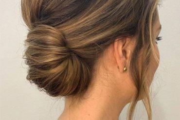 Bridal Hairstyles Ideas for Medium Length Hair