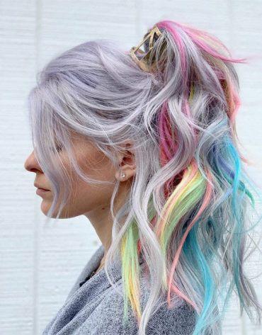 Delightful Hair Color Ideas & Highlights for Spring Season