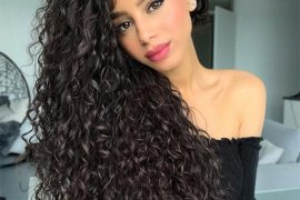Elegant Curly Hairstyles Trends for Ladies In 2019