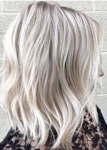 Fresh Shades Of Blonde Balayage Hair Colors for 2019