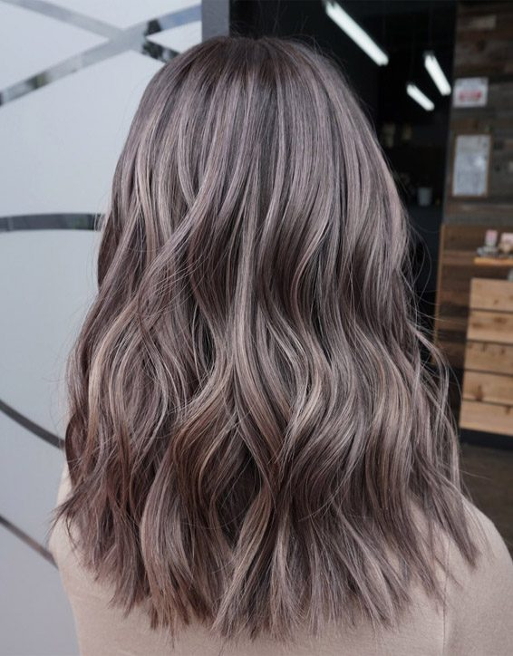 Dimensional Smokey Brown Hair Color Ideas for 2019