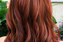 Cool copper balayage hair color shades & highlights in 2019