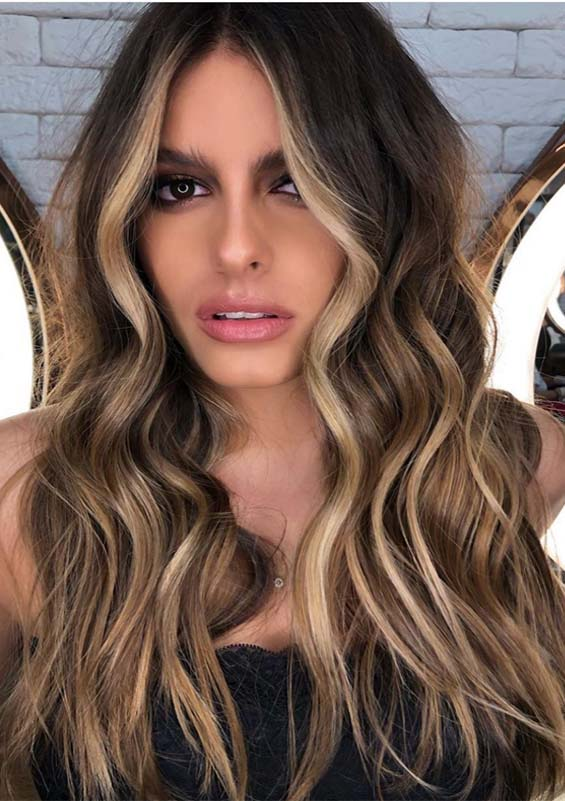Awesome Face Framing Long Balayage Hairstyles For 2019