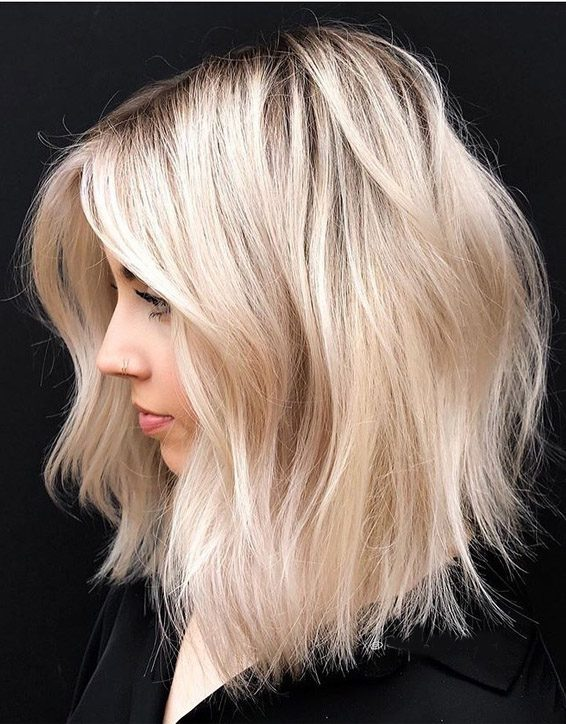 Gorgeous Bob & Blonde Hair Trends for 2019