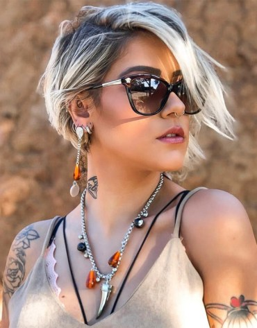 Inspiring Short Hairstyle & Haircuts for Girls In 2019