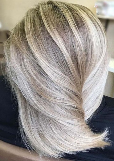 Melted Butter Blonde Hair Colors Highlights for 2019
