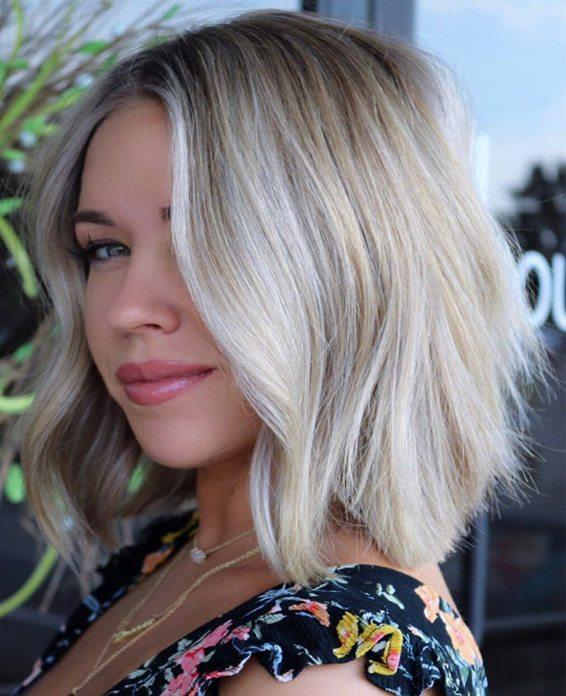 Dreamy Medium Length Summer Hairstyle In 2019