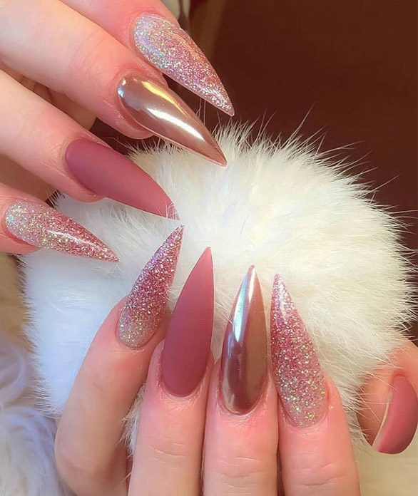 Lovely & Cutest Looks of Nail Designs for 2019